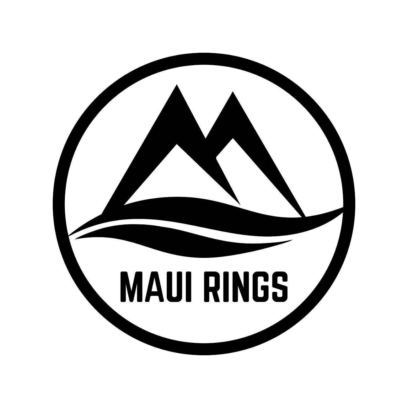 Silicone Wedding Ring by MAUI RINGS 4 PACK Ring Engagement Rings for Men Wedding Band Mens Ring Rubber Bands Mens Rings Surf Fitness Exercise Gym Crossfit Training Sport Running Yoga [ SIZE 10 ]