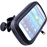 iPhone5用 防水防塵 バイクハンドル マウントホルダーケース