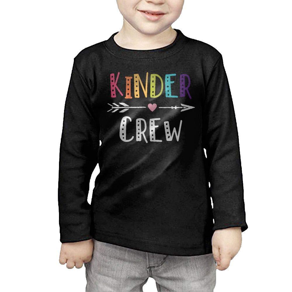 Fryhyu8 Baby Boys Childrens Kinder Crew Kindergarten Teacher Printed Long Sleeve 100/% Cotton Infants Clothes