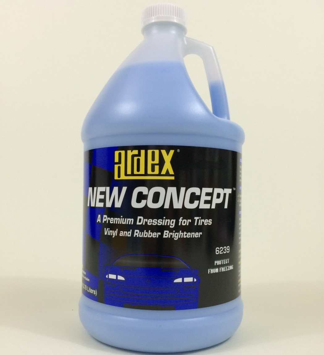 Tire and Trim Shine - Dash and Vinyl Dressing - Ardex New Concept Gal. - DIY Like The Pros