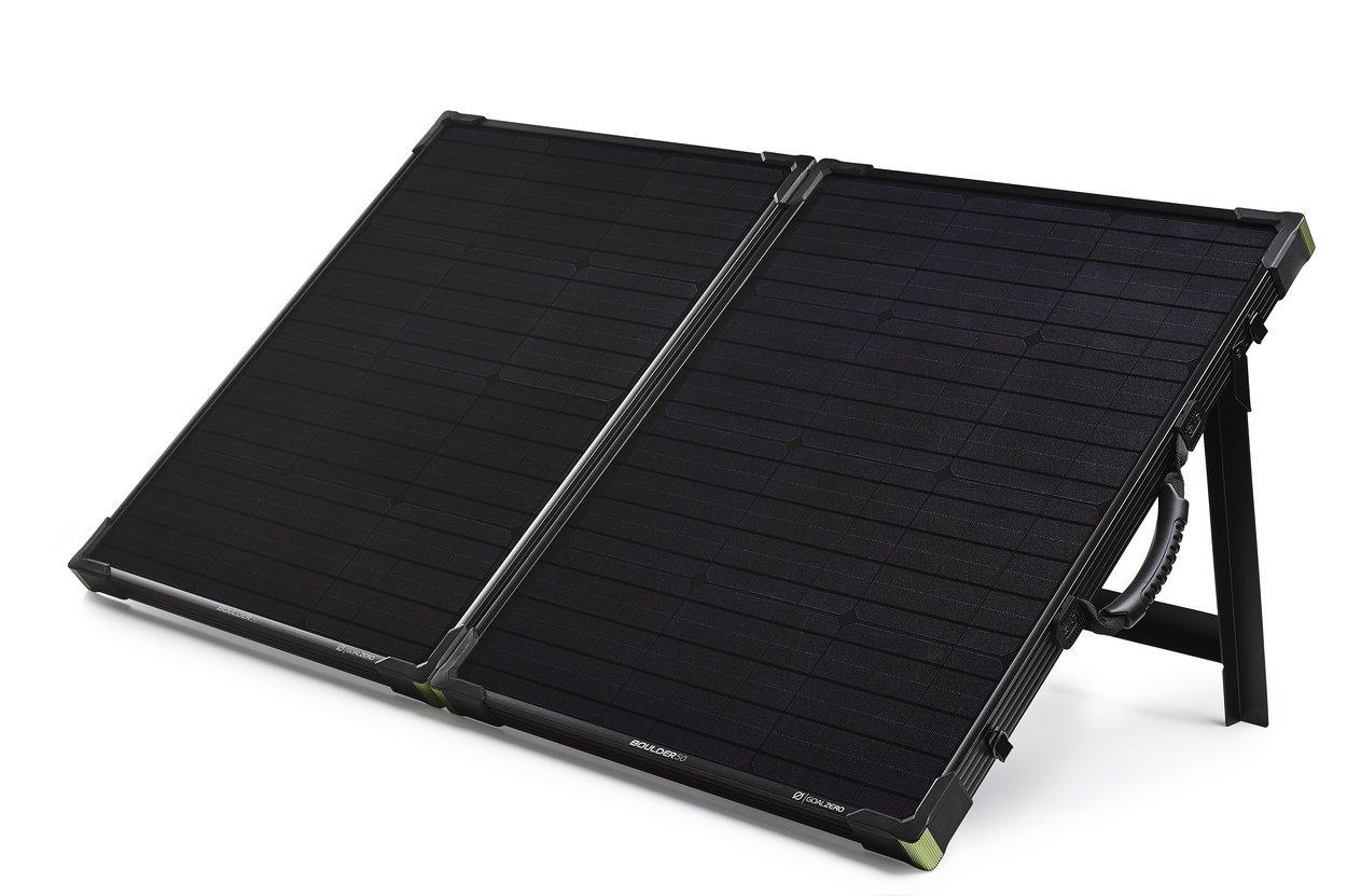 Goal Zero Boulder 100 Briefcase, 100 Watt Monocrystalline Solar Panel