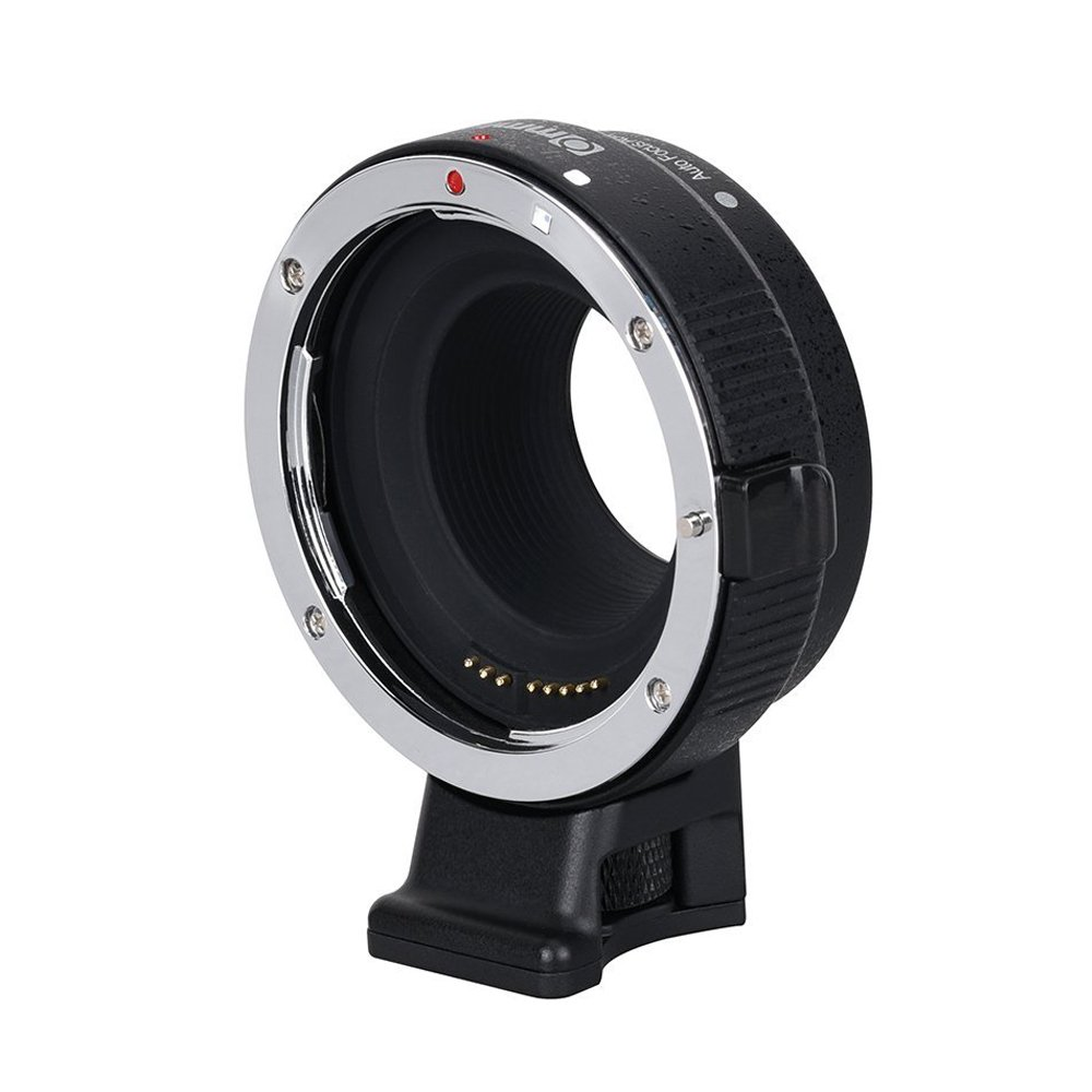 Commlite CM-EF-EOS M Electronic Auto-Focus Lens Mount Adapter-Canon EF/EF-S D/SLR Lens to Canon EOS M (EF-M Mount) Mirrorless Camera Body Adapter for Canon EOS M1 M2 M3 M5 M6 M10 M100 by Commlite