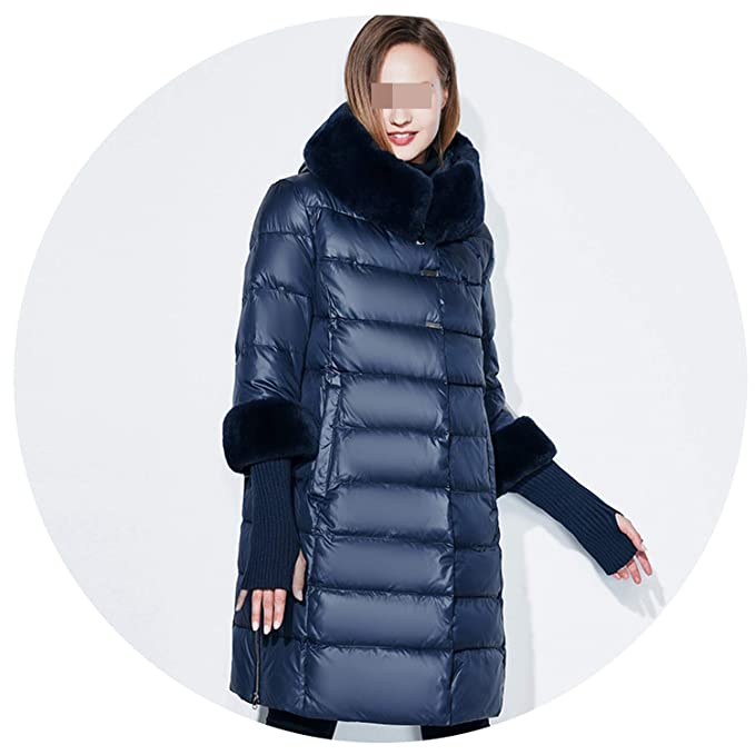 Love Snowclassic Jacket Women camperas Mujer Abrigo invierno Coat Women 5XL F-ur Collar hat Cuffs Thick: Clothing