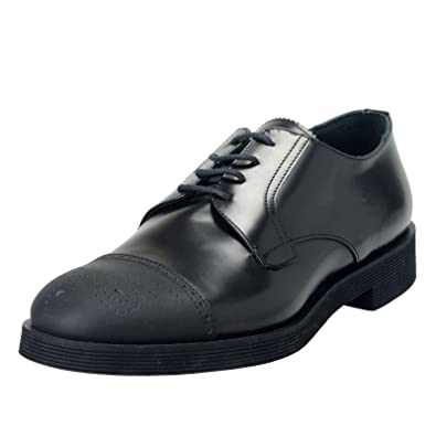 d2cab2eadceca Amazon.com: Versace Collection Men's Black Leather Lace Up Oxfords ...