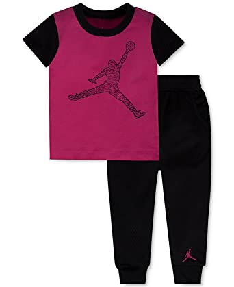 la meilleure attitude 7dfd0 64d93 Jordan bébé garçon 2 pièces T-Shirt et Maille Ensemble ...