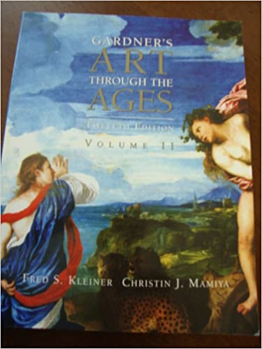 gardners art through the ages augusta state university edition volume 2