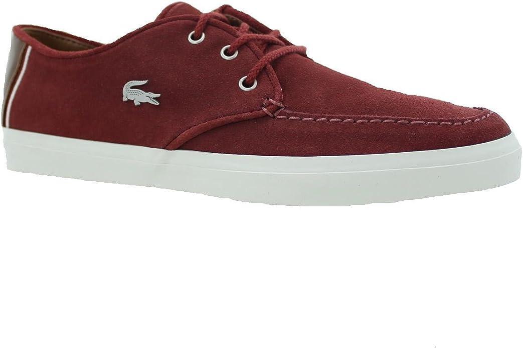 Lacoste Sevrin 3 SRM Red Men Shoes 1047: Amazon.es: Zapatos y ...