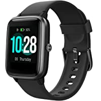 TOOBUR Smart Watch, Fitness Tracker with Heart Rate Monitor Pedometer and Sleep Monitor, IP68 Waterproof Calorie Step…