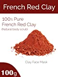 Generic Organics French Red Clay, Face Pack (100gm)