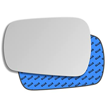 Left Passenger Convex Wing Mirror Glass for Vauxhall Zafira B 2005-2009 22LS