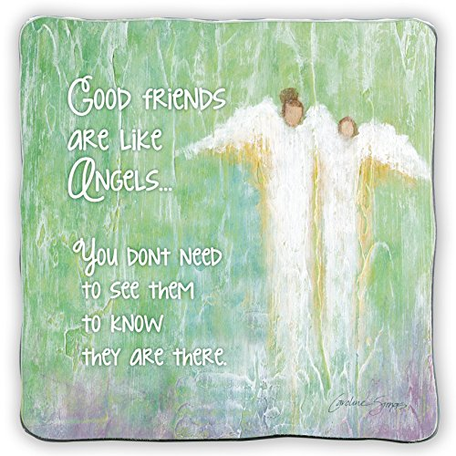 Cathedral Art SIM136 Friendship Blessing Art Metal Square Plaque, 5-Inch Religious Goods