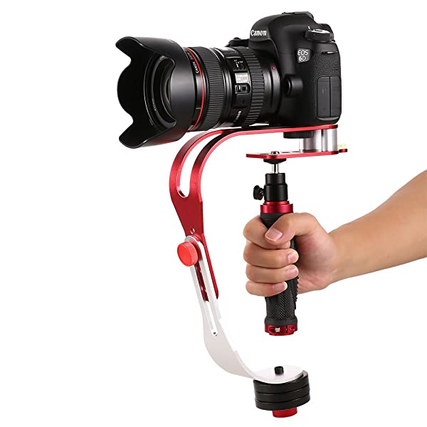 PRO HANDHELD VIDEO ESTABILIZADOR STEADICAM PARA GOPRO, DSLR, DV, SLR, Canon, Nikon, Cámara de vídeo digital