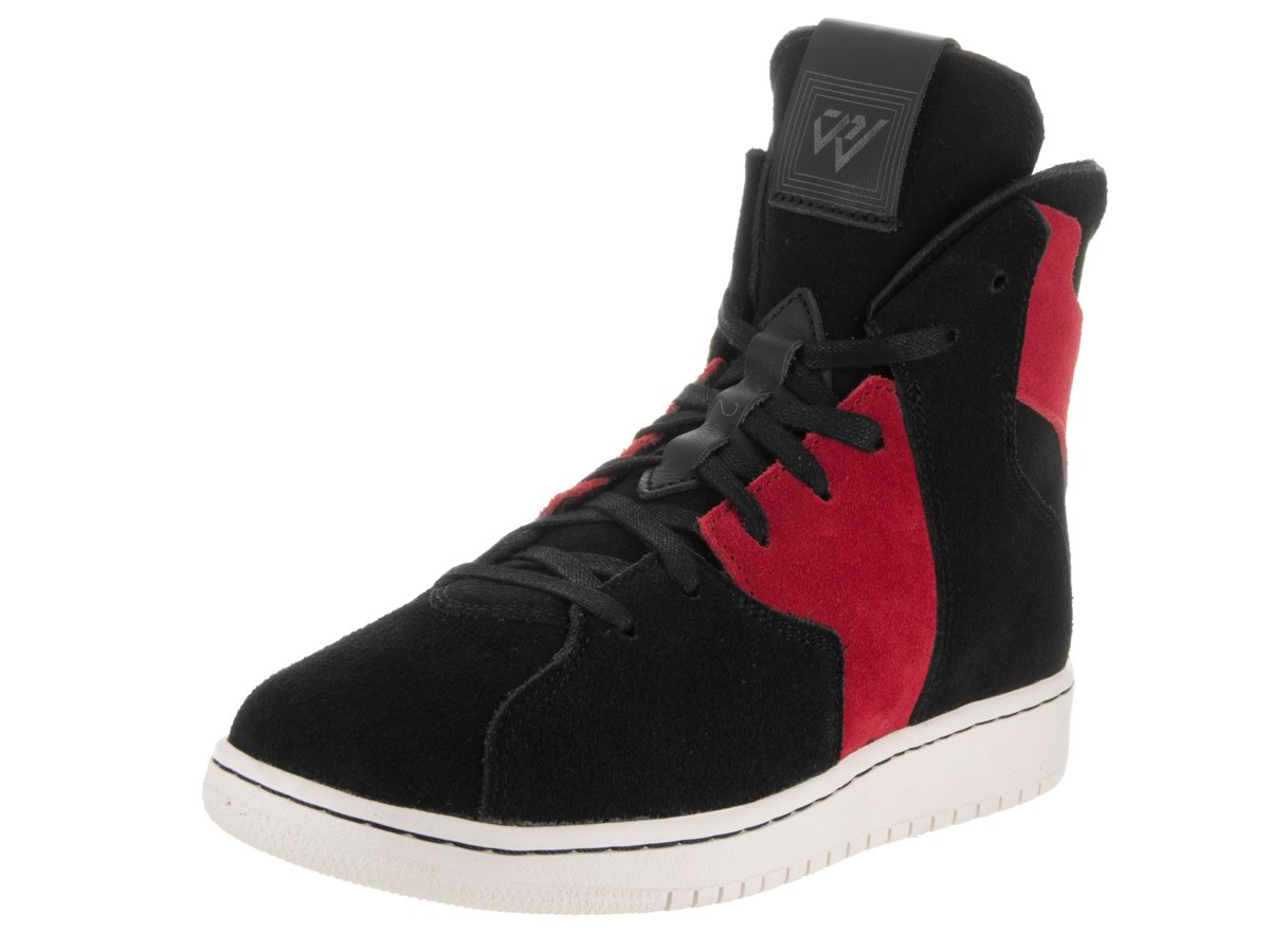 Jordan Nike Kids Westbrook 0.2 Bg Black/Black Gym Red Casual Shoe 4.5 Kids US