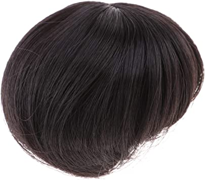Sm Sunnimix 1 3 Bjd Fashion Doll Wigs Diy Short Hair Hairpiece For Uncle Doll Black As Described Amazon Co Uk Toys Games