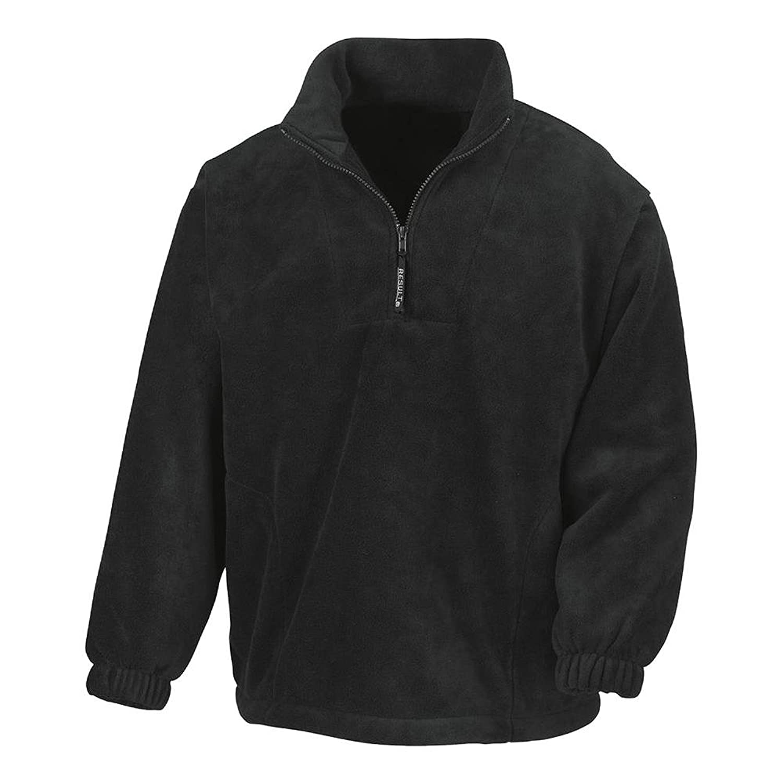 Result Fleece-Sweatshirt mit 1/4 Reißverschluss R33X