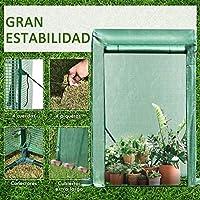 Outsunny Invernadero de Jardín Terraza para Huerto en Casa ...