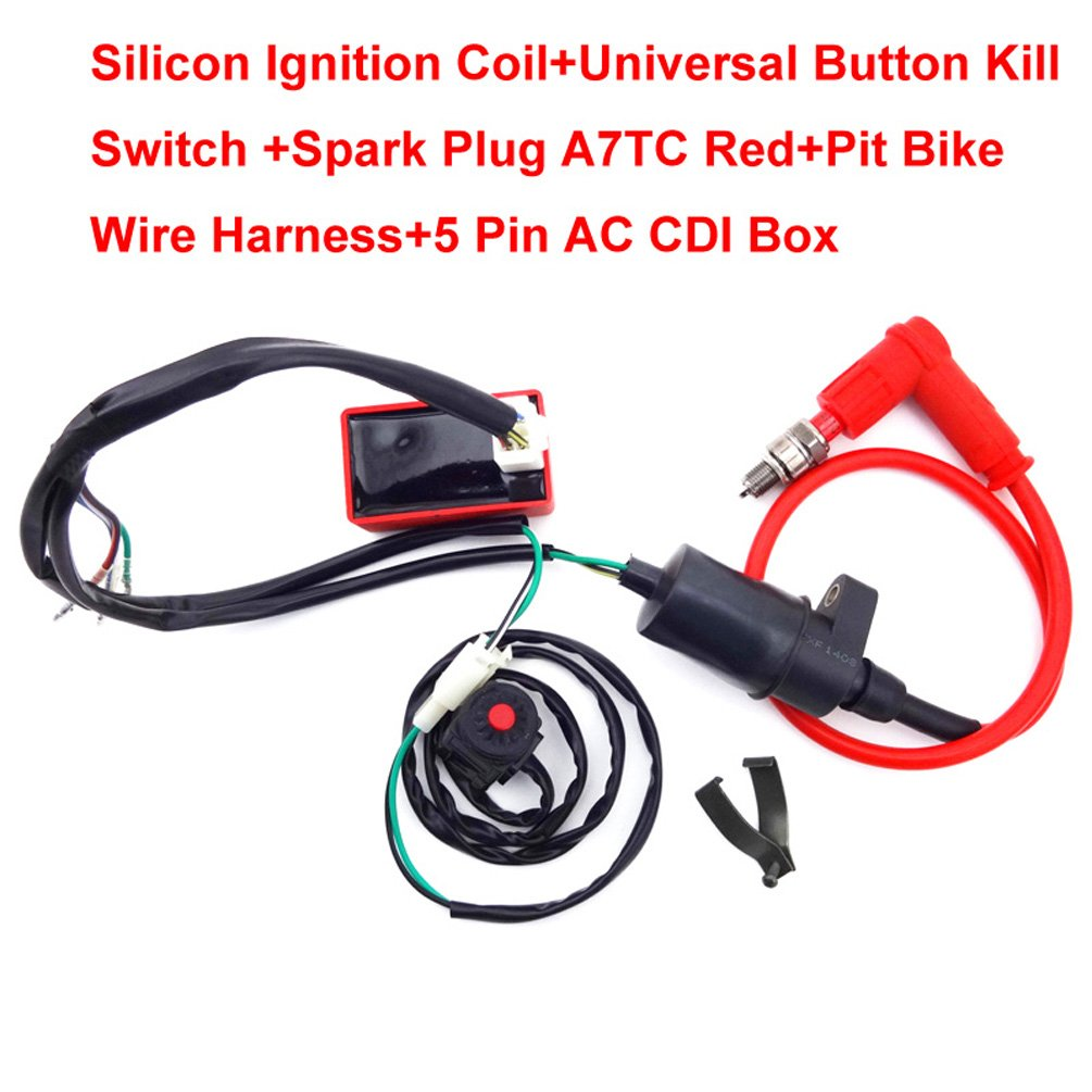 Kill Switch Wiring Ac Diagrams Source Specifications Of Loom Race Ignition Coil Cdi For Century Condenser Fan Motor