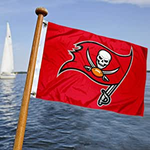 Tampa Bay Buccaneers bandera de barco y carro de golf: Amazon.es ...