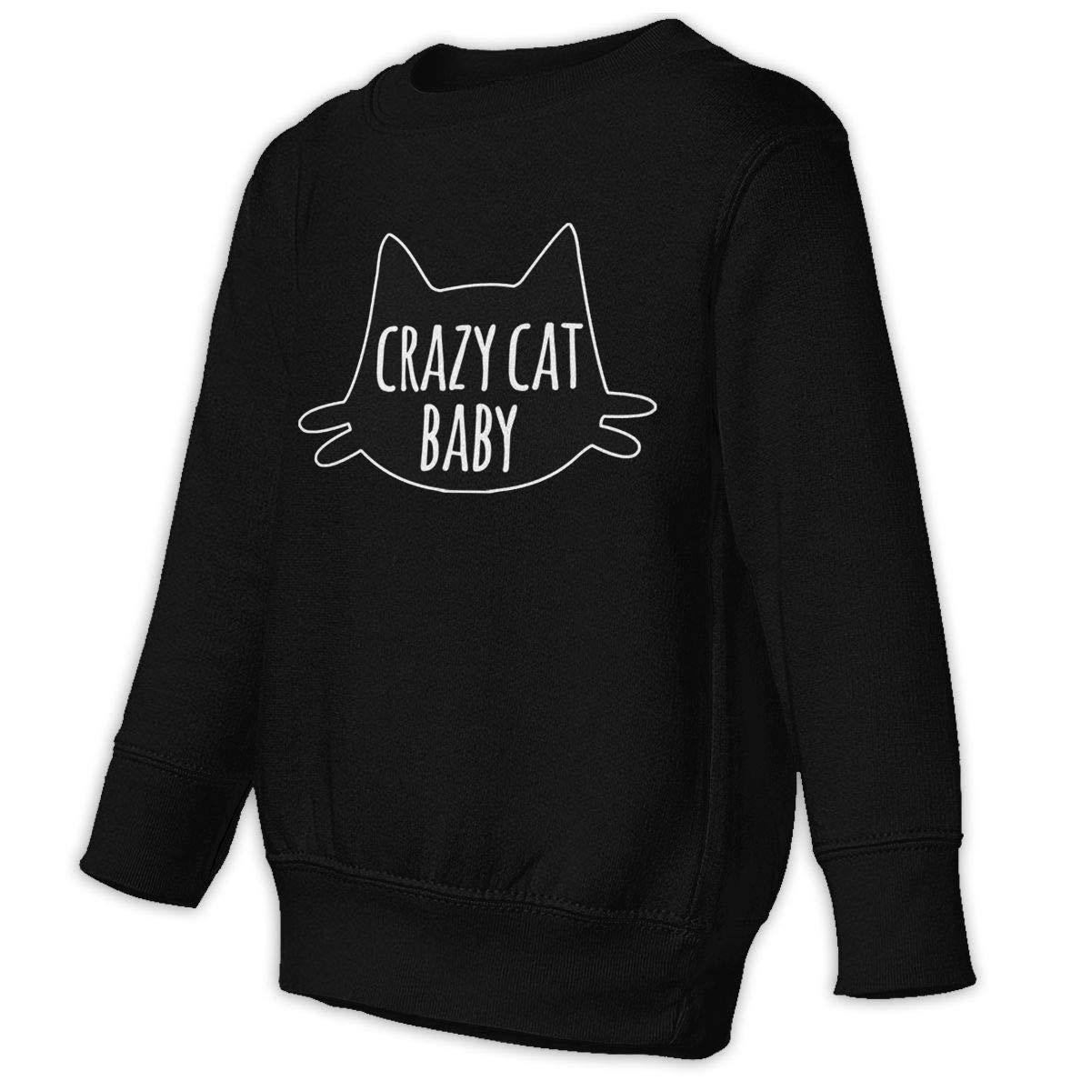 Crazy Cat Baby Baby Sweatshirt Adorable Kids Hoodies Comfortable Sweaters