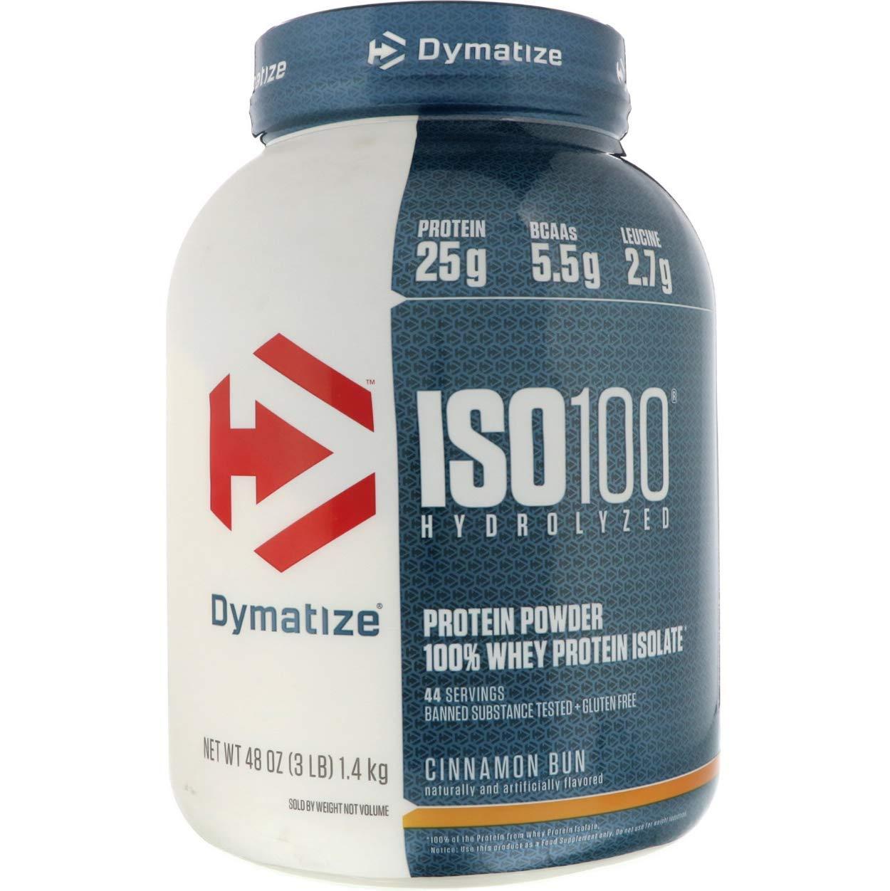 Dymatize ISO 100 Hydrolyzed Whey Protein Isolate - Birthday Cake- 5 Pound
