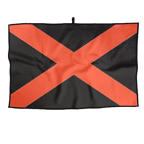 Ruin State Bandera de Alabama Toalla de Golf Actividades al Aire Libre Toallas Portátiles para Hombres