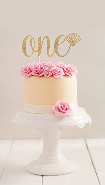 Amazon One Cake Topper First Birthday Topper First Birthday