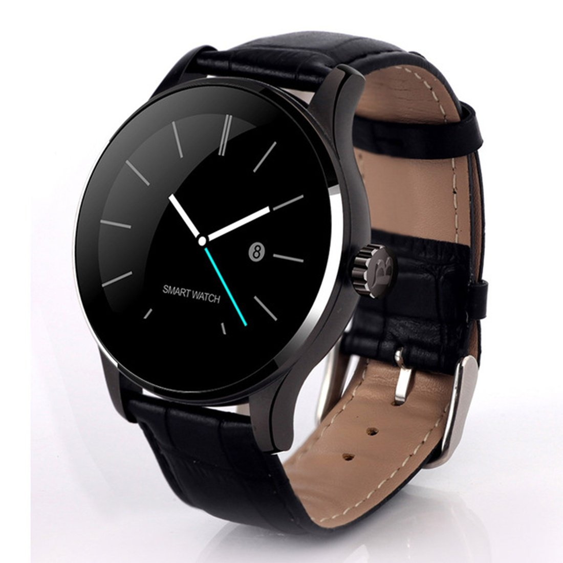 Amazon.com: K88H Bluetooth Smart Watch MTK2502 Heart Rate ...