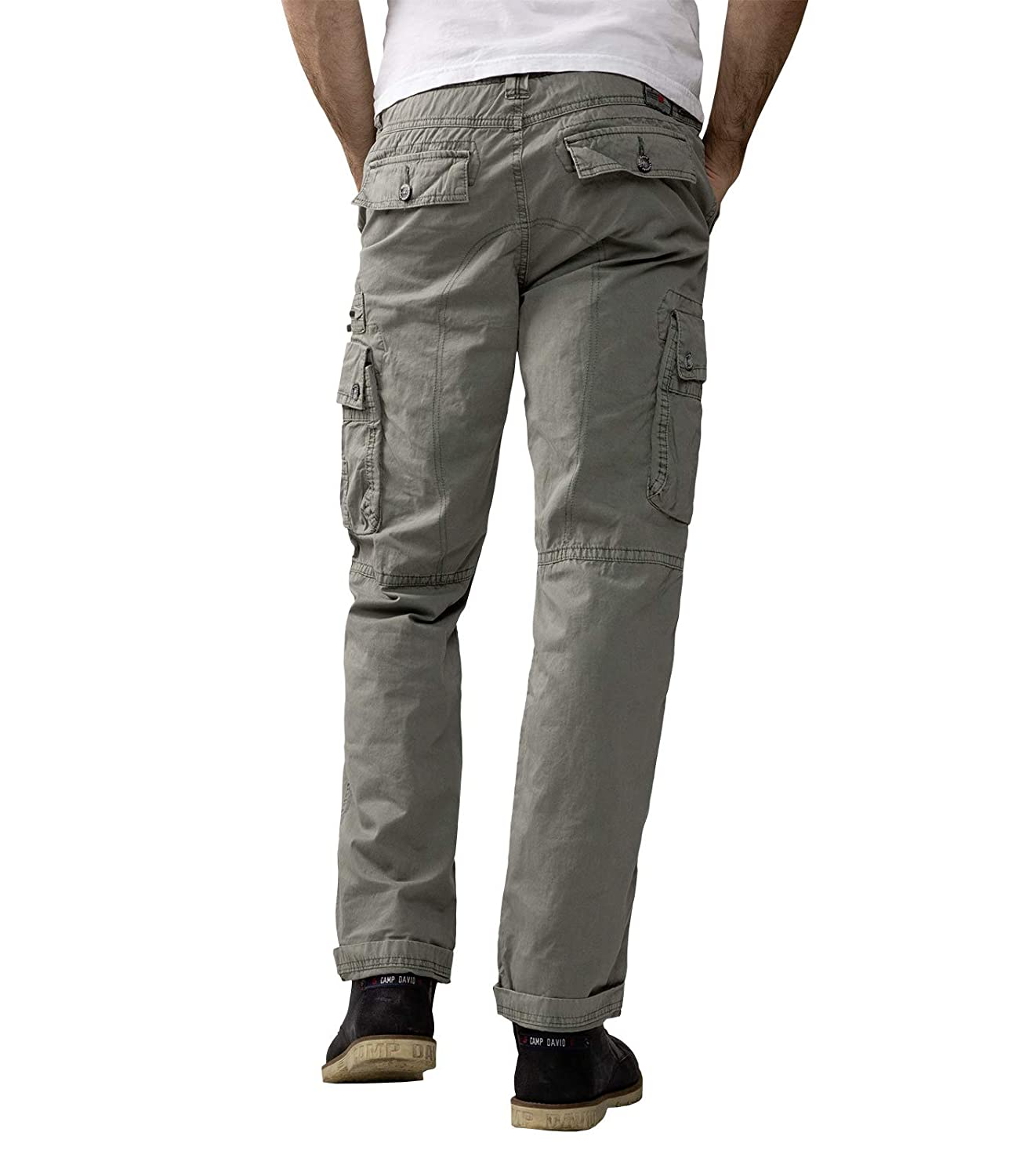 on sale buy cheap new concept Camp David Cargohose mit Used-Waschung: Amazon.de: Bekleidung