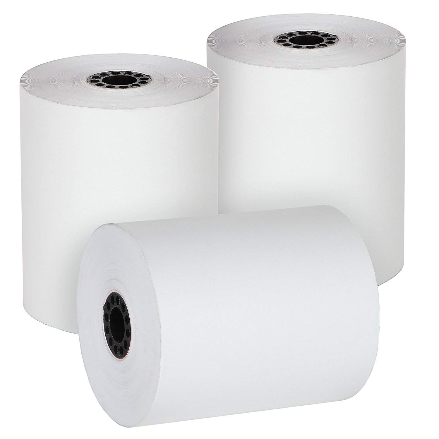 FHS Retail Thermal Paper Cash Register Rolls, 3 1/8 x 230', 50 Rolls In Case, Made in USA/Canada
