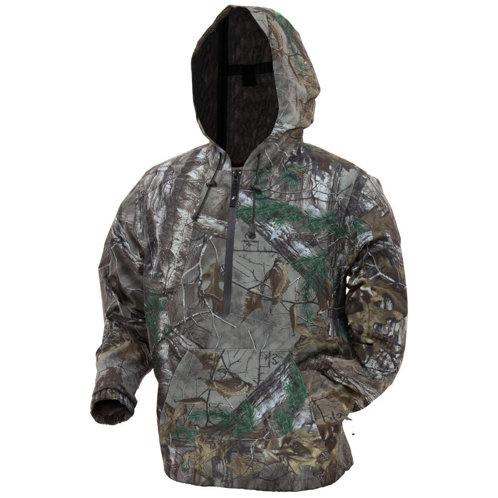 Frogg Toggs DSH63165-543X Dead Silence Camo Hoodie, Realtree Xtra, 3X-Large