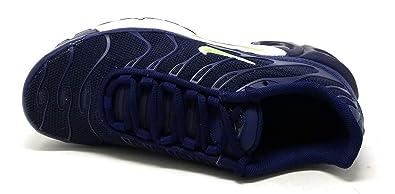 promo code 375f4 c5ddc Nike Air Max Plus Junior Bleu 655020-421  Amazon.fr  Chaussures et Sacs