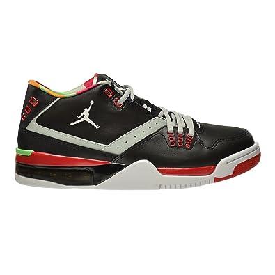 official photos c8956 25a3a ... free shipping jordan flight 23 mens shoes black white grey mist  university red 317820 57226 cdd3d