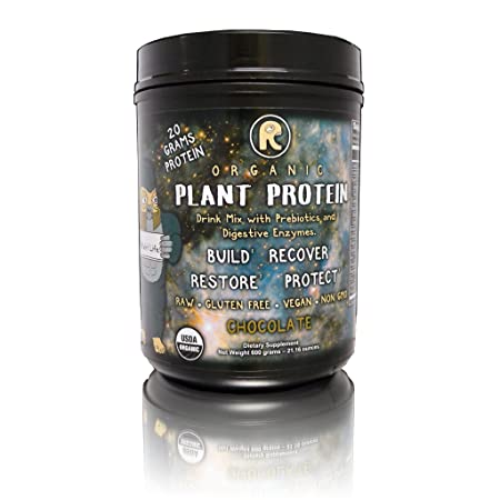 RAWr Plant Protein – Certified Organic Chocolate Plant Based Protein Drink Mix. Created by Pro Skateboarder John Motta Pro BMXer Rare Fruit Grower Joey Motta.