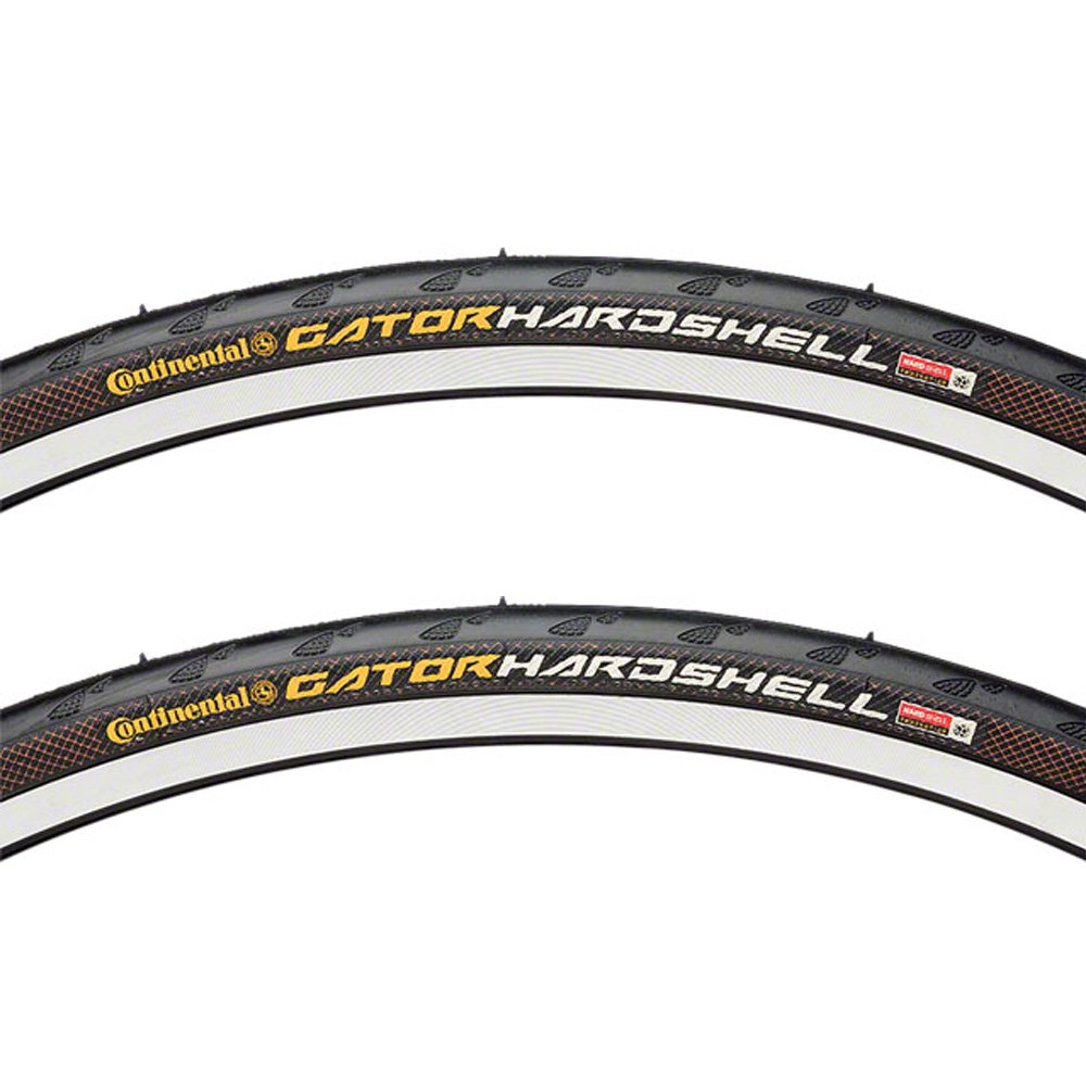 843613ff998 Amazon.com : Continental Gator Hardshell Tire Pair 27x1-1/4 Wire Clincher  Black 27