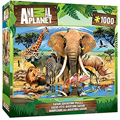 MasterPieces Animal Planet Ice Age Friends - 100 Piece Kids Puzzle: Toys & Games