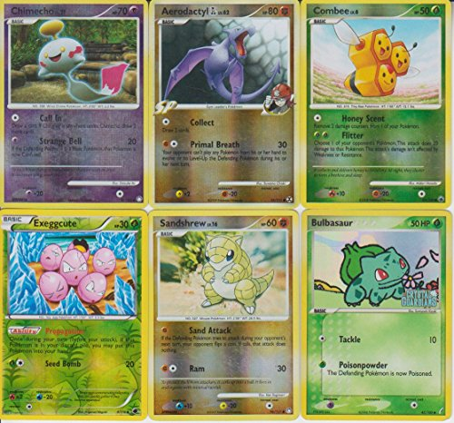 Pokemon Holo and Rare 6 Card Lot with Chimecho LV. 21 Photo - Pokemon Gaming