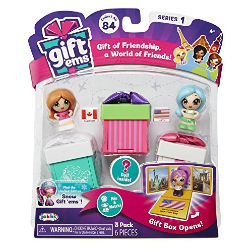 Gift 'Ems Transforming Gift Boxes (3 Pack) Assorted ()