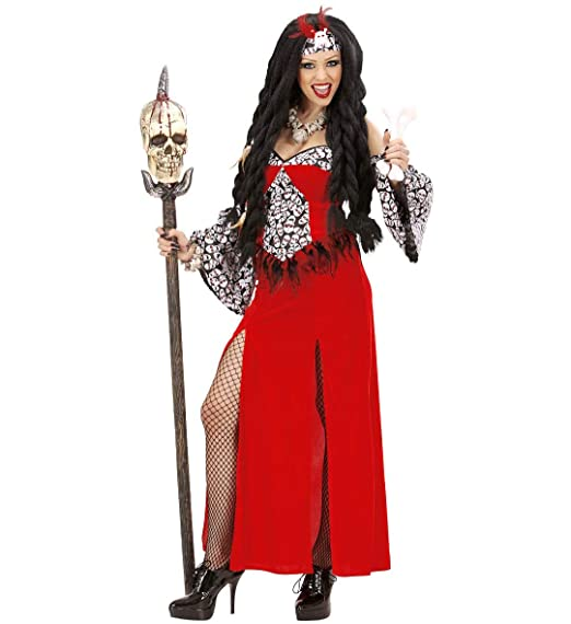 Voodoo Priestess Costume Halloween Womens Ladies Adult Fancy Dress Outfit
