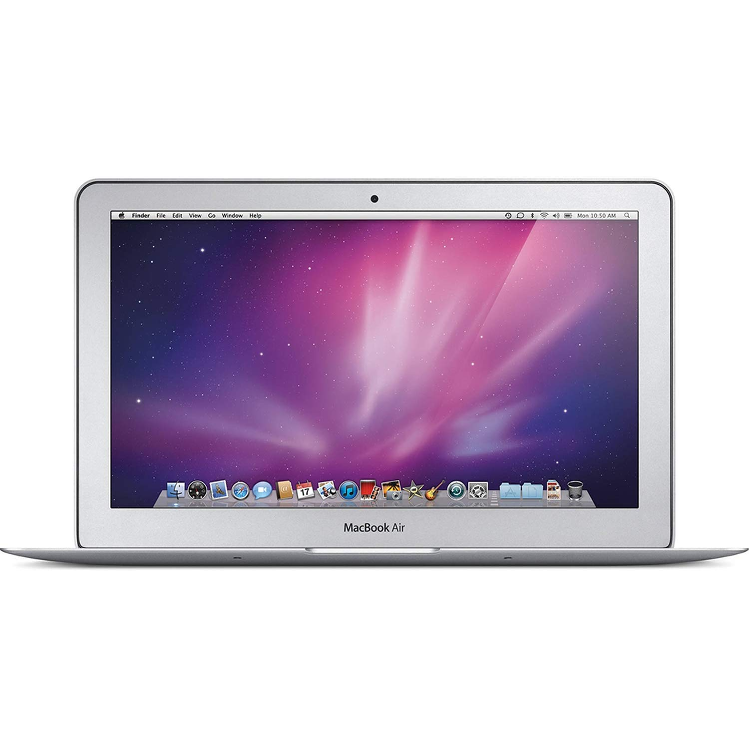 Apple MacBook Air MC505LL/A Intel Core Duo SU9400 X2 1.4GHz 2GB 60GB SSD 11.6in, Silver (Renewed)