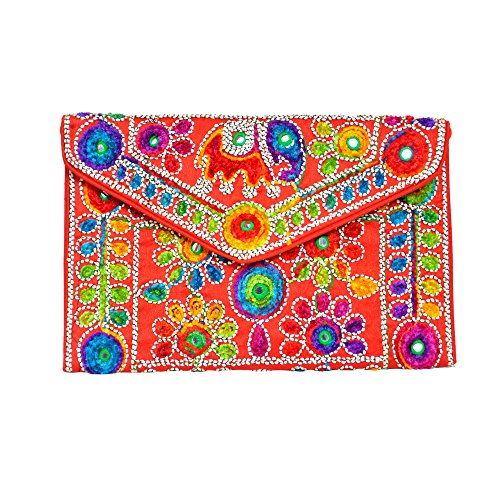 artists Bag Handmade by Traditional Indian Clutch xBXqnw4