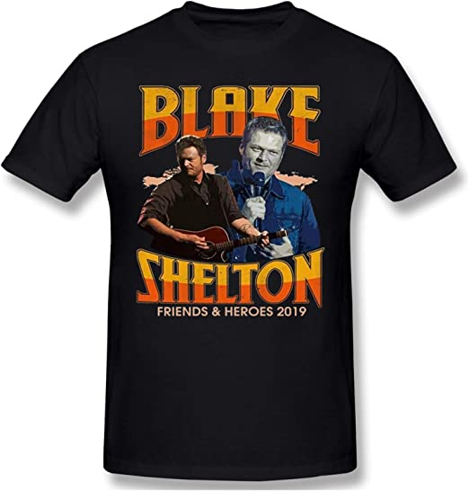 Blake Shelton - Camiseta de manga corta para hombre, color ...