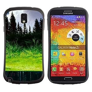 Suave TPU GEL Carcasa Funda Silicona Blando Estuche Caso de protección (para) Samsung Note 3 / CECELL Phone case / / Grass reflection /