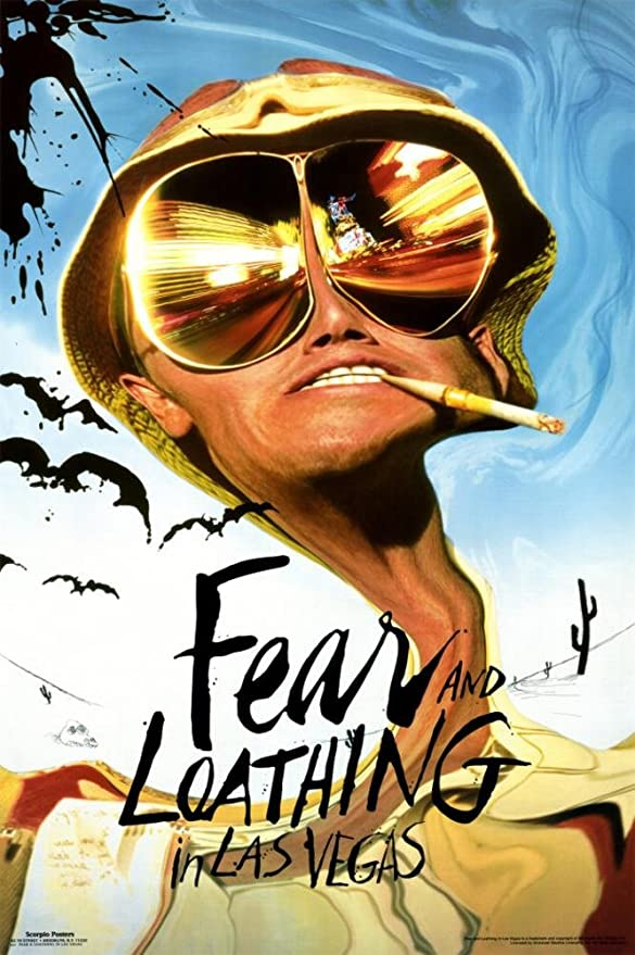 Fear and Loathing in Las Vegas Movie Home Office Canvas Art ~ 5 Sizes To Choose