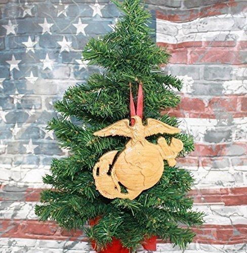 Amazon.com: U.S. Marine Corps gifts Emblem EGA logo Christmas ...