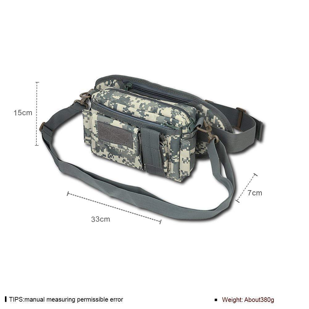 Eeayyygch Handtasche Modetaschen Tarntasche Taschen Outdoor Sporttaschen, ACU Digital (Farbe   Wie Gezeigt, Größe   Einheitsgröße)