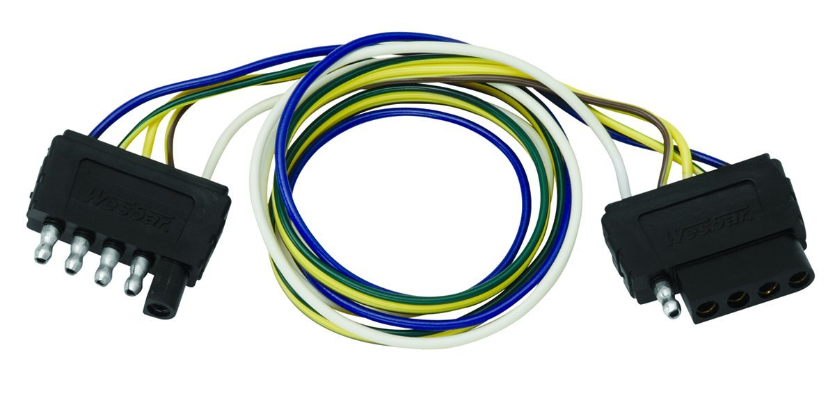 61Qj%2BFpS2dL._SL1200_ amazon com wesbar 707255 double ended wire harness extension 5 wesbar wiring harness at soozxer.org