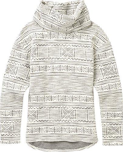 Burton Women's Ellmore Pullover Hoodie, Canvas Bambara Yarn Dye, Small -