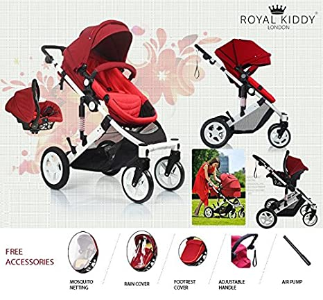 Royal Kiddy London © Carrito De Bebe Carro Combi Capazo Silla De Paseo 3 En 1 ...