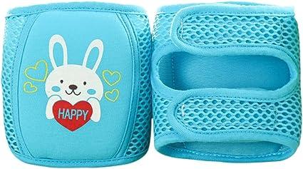 Freahap Genouill/ère Enfant Protection Genou avec Velcro Gu/être S/écurit/é B/éb/é 32*12.5cm Bleu