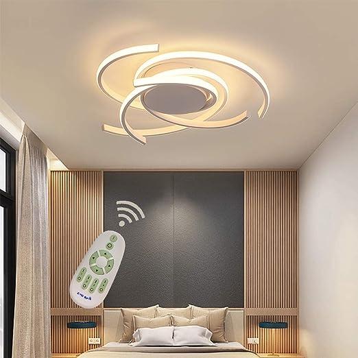Luminaire Plafonnier Led Salon Dimmable Salle Manger Chambre Lampe